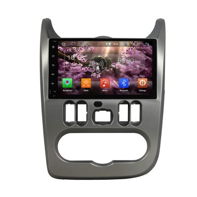 Belsee Aftermarket 9 Inch Touch Screen Radio Android 8.0 Oreo Auto Radio Car Stereo GPS Navigation for Renault Dacia Duster Logan Sandero 2007 2008 2009 2010 2011 2012 2013 Head Unit Multimedia Video Audio Player Octa Core PX5 Ram 4GB Rom 32GB Wifi