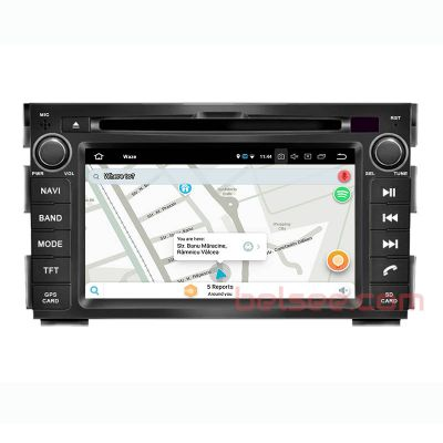Belsee Best Aftermarket Android 10 Q Auto Head Unit GPS Navigation System Multimedia Play for Kia Ceed 2009-2012 Apple CarPlay 7 inch IPS Touch Screen Radio Replacement Stereo Upgrade Wifi Bluetooth PX6 Ram 4GB Rom 64GB Sat Nav