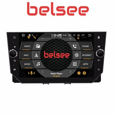 Belsee Best Aftermarket Wireless Apple CarPlay Android 10 Auto Autoradio Head Unit Stereo Upgrade Car Radio Replacement Multimedia Player Part for SEAT Ibiza 2017 2018 2019 2020 9 inch IPS Touch Screen Sat Nav GPS Navigation System Wifi Bluetooth PX6 DSP