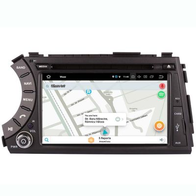 Belsee Aftermarket Android 8.0 Oreo Head Unit Octa Core PX5 Radio Stereo GPS Car DVD Player for SsangYong Kyron Actyon Tradie Korando 2005-2014 7 Inch Touch Screen Left Drive Multimedia Sound Navigation System Video 4K Player Ram 4GB Rom 32GB Carplay