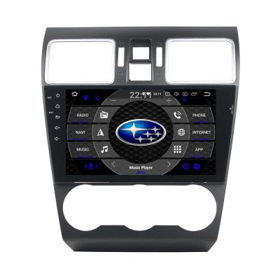 Belsee Best Subaru XV Crosstrek WRX STI Forester 2014 2015 2016 2017 2018 2019 2020 Aftermarket Navigation Android 10 Auto Head Unit Stereo Upgrade 9 inch IPS Screen In Dash Car GPS Audio System Multimedia Player Sat Nav Apple CarPlay PX6 Bluetooth Radio