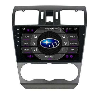 Belsee Best Aftermarket Android 9.0 Pie Auto In Dash GPS Navigation System Head Unit for Subaru XV Crosstrek WRX STI Forester 2015 2016 2017 2018 2019 9 inch IPS Touch Screen Head Unit Radio Stereo Upgrade Apple CarPlay Android Auto Bluetooth Wifi