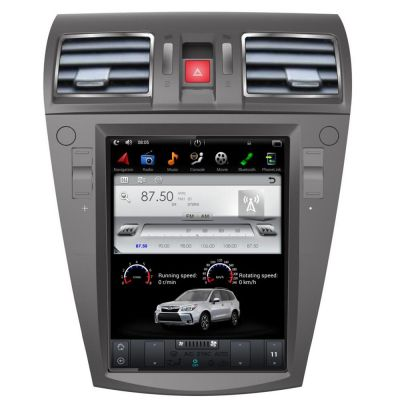 Belsee Aftermarket Best Android 7.1 Head Unit Radio Stereo Tesla Style 10.4 Inch Touch Screen for Subaru Forester / XV 2012 2013 2014 2015 2016 2017 2018 In Dash GPS Navigation Audio System Bluetooth Receiver Car Part Android Auto Carplay