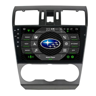 Belsee Best Aftermarket 9 inch Touch IPS Screen Android 10 Auto Head Unit GPS Navigation System for Subaru XV Crosstrek WRX STI Forester 2014-2020 Radio Replacement In Dash Stereo Upgrade Apple CarPlay PX6 Ram 4GB Rom 64GB Multimedia Player Sat Nav Wifi