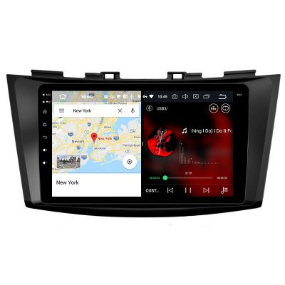 Belsee Aftermarket In Dash Car GPS Navigation Android 8.0 Oreo System Radio Head Unit for Suzuki Swift Ertiga 2011-2016 Parts Stereo Upgrade Audio Video Multimedia Player Replacement 4K 8 Inch IPS Touch Screen Octa Core PX5 Ram 4GB Rom 32GB Carplay Auto