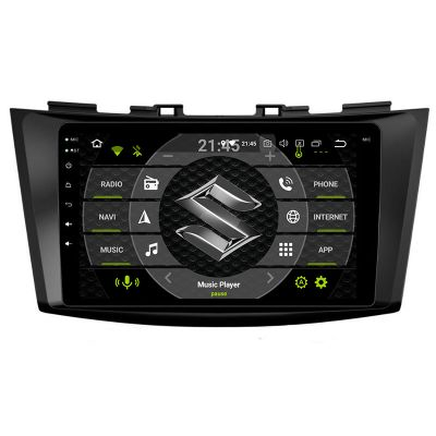 Belsee Best Aftermarket Android 9.0 Auto Pie Head Unit Car Radio Replacement Stereo Upgrade for Suzuki Swift Ertiga 2011-2016 8 inch IPS Touch Screen DSP GPS Navigation Multimedia Player System Apple CarPlay Audio Video PX6 Ram 4GB Rom 64GB Sat Nav