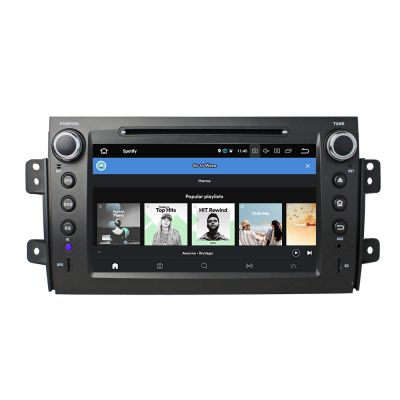 Belsee Aftermarket 8 inch Touch Screen Autoradio Android 8.0 Oreo Car Radio Stereo Replacement Head Unit for Suzuki SX4 2006-2013 Octa Core PX5 Ram 4GB Rom 32GB GPS Navigation Multimedia DVD Player support Apple Carplay Android Auto Bluetooth Wifi