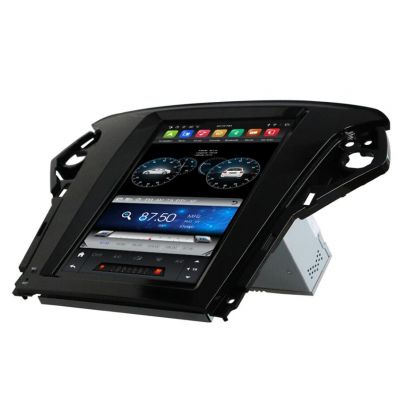 Belsee Best Aftermarket Radio Replacement for Ford Mondeo MK4 2011-2015 Wireless Android 9 Auto Apple CarPlay Tesla Style Vertical 9.7 inch IPS Touch Screen Head Unit Stereo Upgrade GPS Navigation Audio Video Multimedia System Wifi Bluetooth PX6 Sat Nav