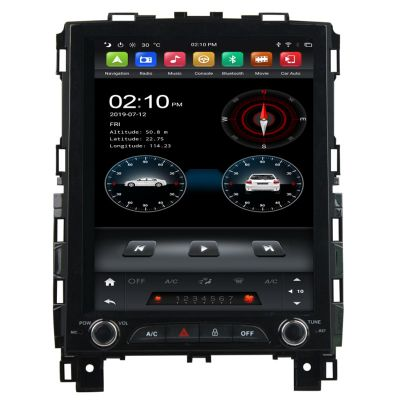 Belsee Best Aftermarket Android 9.0 Auto Head Unit Tesla Style Radio Replacement Stereo Upgrade for Renault Talisman Megane IV 4 Koleos 2016-2020 Vertical Touch Screen GPS Navigation System PX6 Ram 4GB Rom 64GB Multimedia Audio Video Player Apple CarPlay