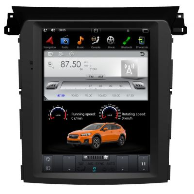 Belsee Best Aftermarket Telsa Style Vertical Touch Screen Android 9.0 Auto Head Unit Radio Replacement for Subaru XV Impreza Crosstrek Forester 2017-2020 Car Stereo GPS Navigation System 10.4 inch Audio Multimedia Player Sat Nav Apple CarPlay DSP Bluetoot
