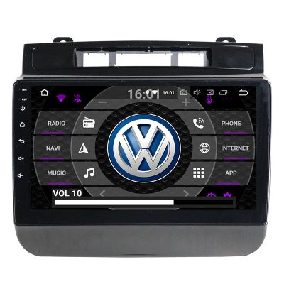 Belsee Best Aftermarket Car Radio Replacement Stereo Upgrade Android 9.0 Pie Head Unit Auto for VW Volkswagen Touareg 2011-2017 9 inch IPS Touch Screen GPS Navigation System Audio Bluetooth Apple CarPlay PX6 Ram 4GB Rom 64GB DSP Amplifier Sat Nav