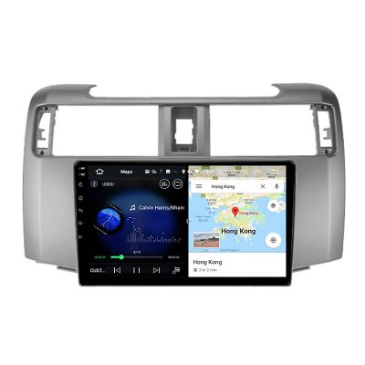 Belsee Best Aftermarket Android 10 Q Auto Head Unit Car Radio Replacement Stereo Upgrade for 2009-2020 Toyota 4Runner GPS Navigation System Apple CarPlay 9 inch Touch Screen IPS Bluetooth Wifi PX6 Ram 4GB Rom 64GB Multimedia Player