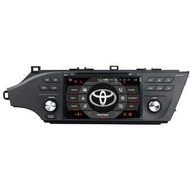 Belsee Best Aftermarket Toyota Avalon 2013-2018 Stereo Upgrade Radio Replacement Android 10 Auto Head unit 8 Inch Touch Dual IPS Screen In Dash GPS Navigation System Audio Video Apple Carplay Wifi Bluetooth DAB+ OBD2 DVD Player PX6 Ram 4GB Rom 64GB DSP