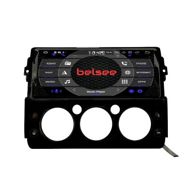 Belsee Newest Best Aftermarket for Toyota FJ Cruiser 2006-2019 12.3 inch Touch Screen Display Head Unit Radio Replacement Wireless Apple CarPlay Android 10 Auto Stereo Upgrade GPS Navigation System Audio Video Multimedia Player Sat Nav OBD2 DAB