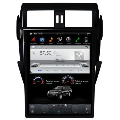 Belsee Aftermarket Android 9.0 Pie Auto Head Unit Car Stereo Upgrade for Toyota Land Cruiser Prado LC150 150 2014-2017 17 inch IPS Touch Screen IPS In Dash Car GPS Navigation Multimedia System PX6 Ram 4GB Apple CarPlay Android Auto Bluetooth Wifi