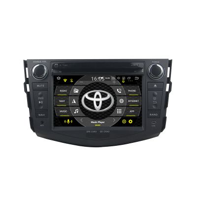 Belsee Best Aftermarket Android 9.0 Auto Head Unit Radio Replacement Car Stereo Upgrade for Toyota RAV4 2006-2012 GPS Navigation Multimedia Audio Play System Apple CarPlay Android Auto Octa Core PX5 Ram 4GB Rom 64GB DSP Sat Nav