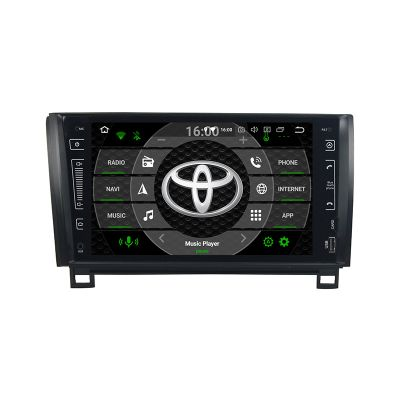 Belsee Best Aftermarket Toyota Sequoia 2008-2019 Tundra 2007-2013 Android 9.0 Auto Head Unit Car Stereo Upgrade Radio Replacement 9 inch IPS Touch Screen GPS Navigation System Octa Core PX5 Ram 4GB Rom 64GB Apple CarPlay Android Auto Multimedia Player