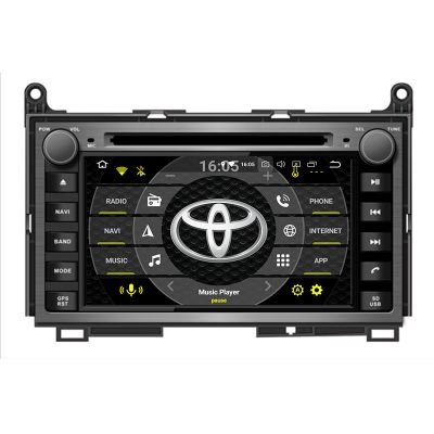 Belsee Best Aftermarket Android 9.0 Pie Auto Head Unit Stereo Upgrade Car Radio Replacement for Toyota Venza 2008-2018 7 inch Touch Screen GPS Navigation System Octa Core PX5 Ram 4GB Rom 32GB Apple CarPlay Android Auto Multimedia Player