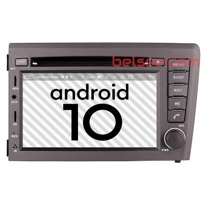 Belsee Aftermarket Android 9.0 Auto DVD Player Car Radio Replacement Stereo Upgrade Head Unit for Volvo V70 XC70 S60 2000-2004 7 inch Touch Screen GPS Navigation System Apple CarPlay Android Auto Octa Core PX5 Ram 4GB Rom 32GB Bluetooth