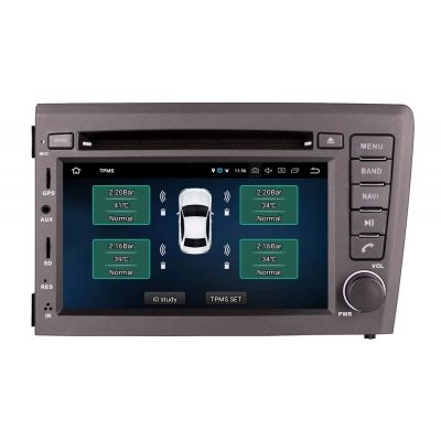 Belsee Aftermarket Android 10 Auto Head Unit Auto Radio Replacement Stereo Upgrade Car DVD Player GPS Navigation for Volvo V70 xc70 S60 2000-2004 Best Multimedia Audio Video Player Autoradio PX6 7 Inch Touch Screen Bluetooth Wifi Apple CarPlay System