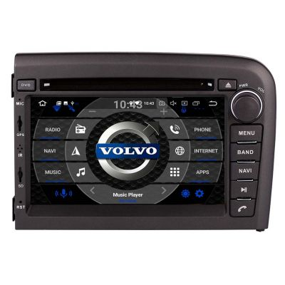Belsee Best Aftermarket Android 10 Auto Head Unit GPS Navigation Radio Replacement Car DVD Player for Volvo S80 1998-2006 7 Inch Touch Screen Stereo Upgrade Sat Nav Multimedia Video 4K Audio System PX6 PX5 Wifi Bluetooth support Apple Carplay