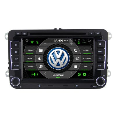 Belsee Best Aftermarket Wireless Apple CarPlay Android 10 Auto 2 Din for VW Volkswagen Jetta Tiguan Golf 7 Polo Passat b7 b6 SEAT leon Skoda Octavia 7 inch Touch Screen Upgrade Radio Replacement Stereo Wifi Bluetooth GPS Navigation System DVD Player