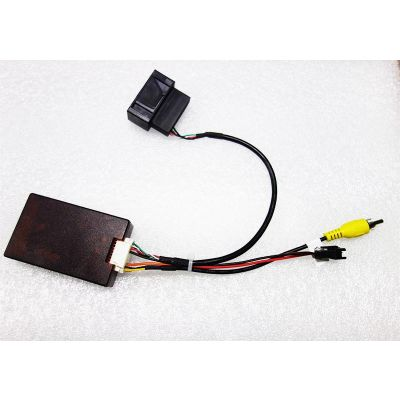 Belsee OEM Factory Back Up Rear Reverse Camera Adatper RGB to AV CVBS Signal for Volkswagen VW Magotan Passat B7 B6 CC Tiguan