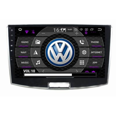 Belsee Best Aftermarket Android 10 Auto Head Unit Car Radio Replacement Stereo Upgrade Part for 2012-2017 VW Volkswagen CC Passat 10.1 inch IPS Touch Screen GPS Navigation Audio video Multimedia Player system Apple CarPlay Android Auto Bluetooth DSP 4+64G
