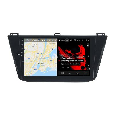 Belsee Aftermarket Volkswagen VW Tiguan 2016 2017 2018 2019 Android 9.0 Auto Head Unit Car Radio replacement GPS Navigation 10.1 inch IPS Touch Screen DSP Stereo Upgrade Multimedia Player Autoradio Apple CarPlay Android Auto Octa Core PX5 Ram 4GB Rom 64G