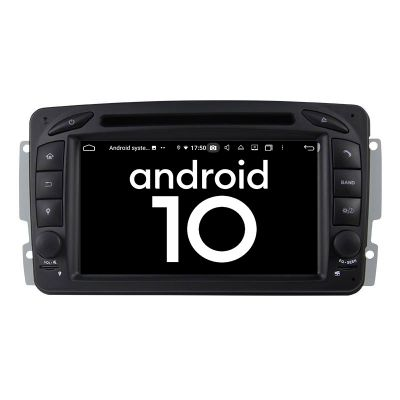 Belsee Aftermarket Android 9.0 Pie Auto Head Unit Car Radio Replacement Stereo Upgrade for Mercedes-Benz C-Class W203 CLK C209 W209 M/ML-Class W163 A-Class W168 Viano & Vito W639 G-Class W463 Apple CarPlay Android Auto In Dash Navigation System Multimedia