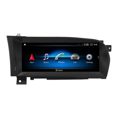Belsee Best Aftermarket 10.25 inch Touch Screen Android 10 Auto Apple CarPlay Head Unit for Mercedes-Benz S-Class W221 W216 CL 2006-2013 Radio Replacement Stereo Audio Bluetooth Upgrade GPS Navigation System Sat Nav Wifi 4G LTE Multimedia Player Octa Core