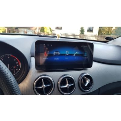 Belsee Best Aftermarket Mercedes-Benz B-Class W246 2012-2018 Android 10 Q Auto Radio 10.25 inch Touch Screen Upgrade Display Head Unit Retrofit Apple CarPlay In Dash GPS Navigation System Multimedia Player Bluetooth 4G Wifi