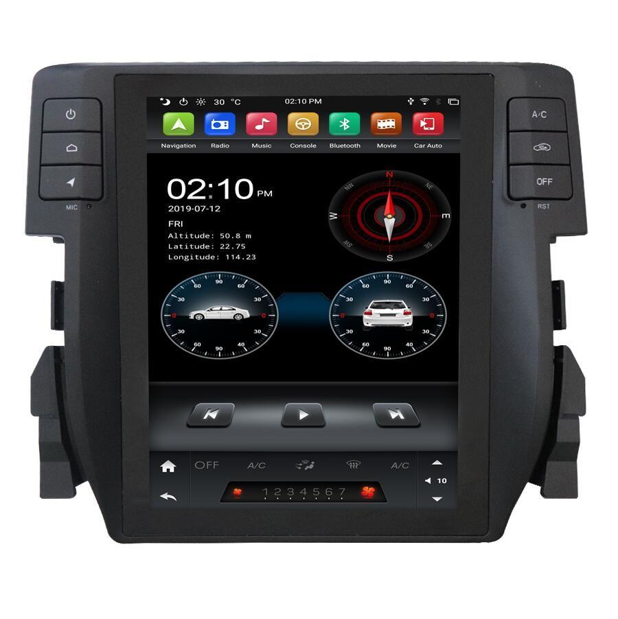 tesl ascreen android 9.0 Honda Civic 2016-2020