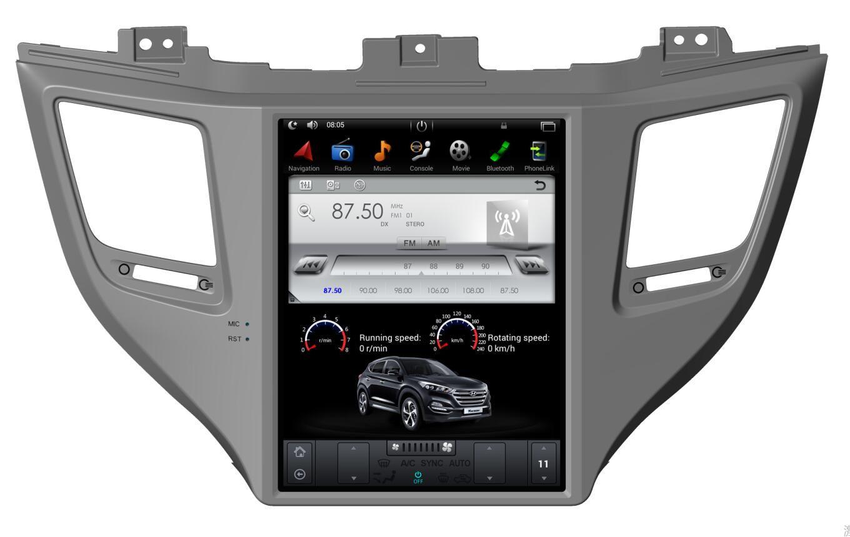 Hyundai Tucson 3 2015-2018 radio