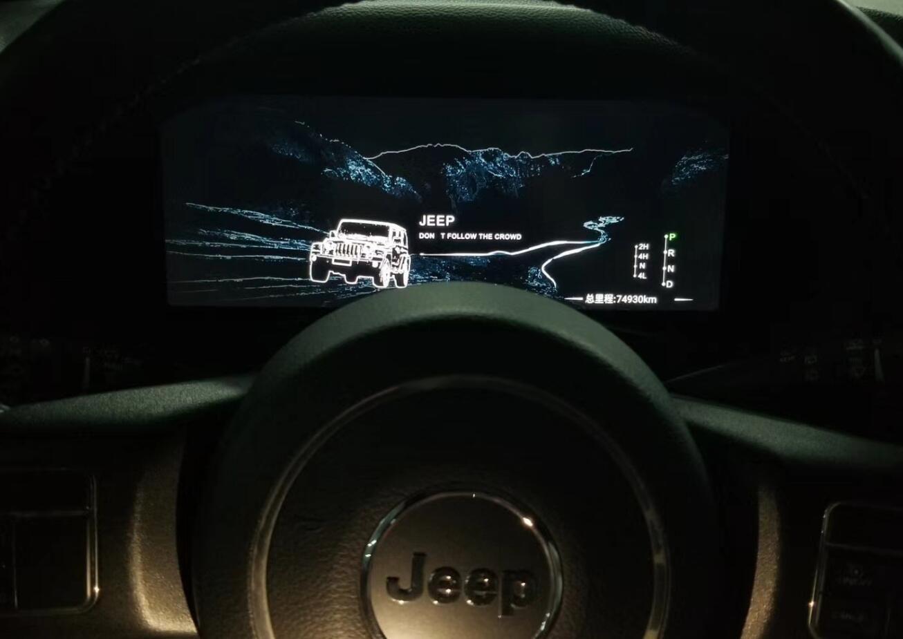 Jeep Wrangler 2010-2017 LCD Digital Dashboard