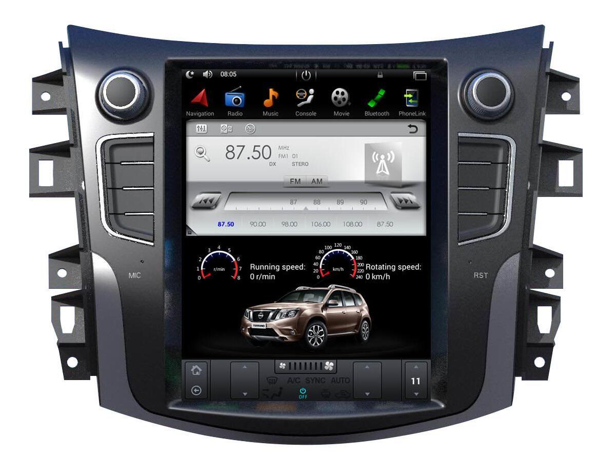 Nissan Terra Navara 2014-2019 radio