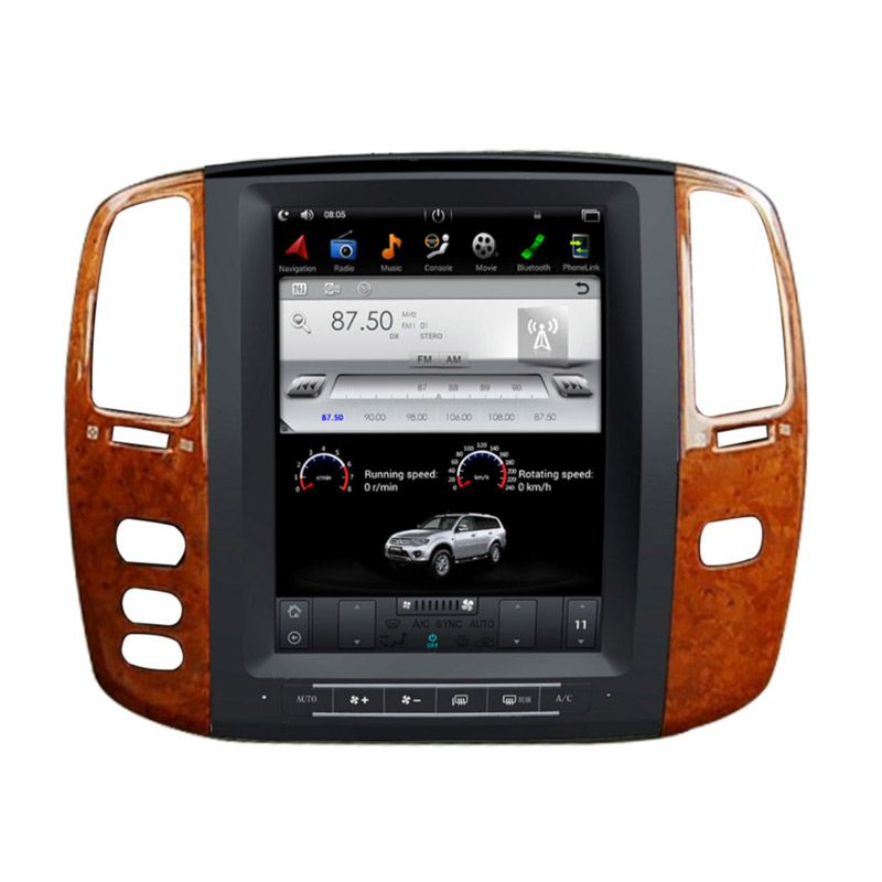Toyota Land Cruiser 100 2002-2007 radio