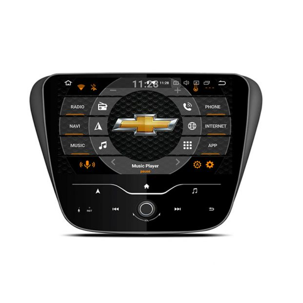Belsee Android 8 0 Auto Head Unit Radio Replacement Aftermarket Stereo for  2019 2018 2017 2016 Chevrolet Chevy Malibu 9 inch IPS Touch Screen Upgrade