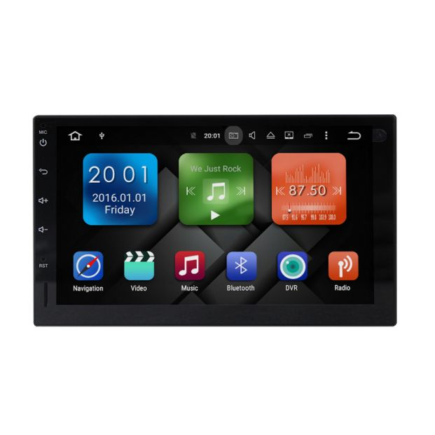 Belsee Android 8 0 Double 2 Din Auto Tablet Head Unit Car Radio Stereo 7
