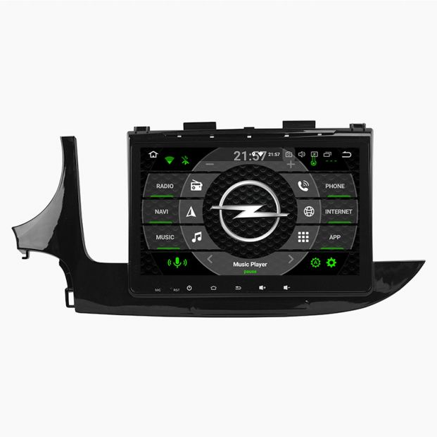 Belsee Aftermarket 2016 2017 2018 Opel Vauxhall Mokka X Android 9 0 Auto  Head Unit Car Radio Replacement Stereo Upgrade 10 1 inch Touch Screen IPS  DSP