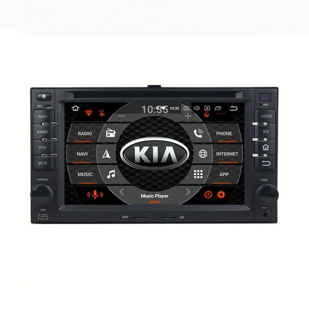 Belsee Android 9 0 Aftermarket Stereo Upgrade Car Radio Replacement Head  Unit for KIA Cerato Sportage CEED Sorento Spectra Optima Rondo Rio Sedona