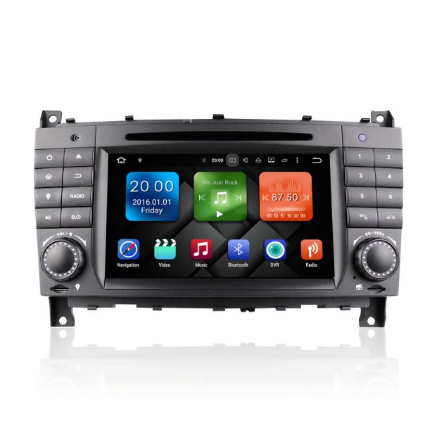 Verrassend Belsee Mercedes Benz w203 In Dash Car Radio Navigation System OF-38
