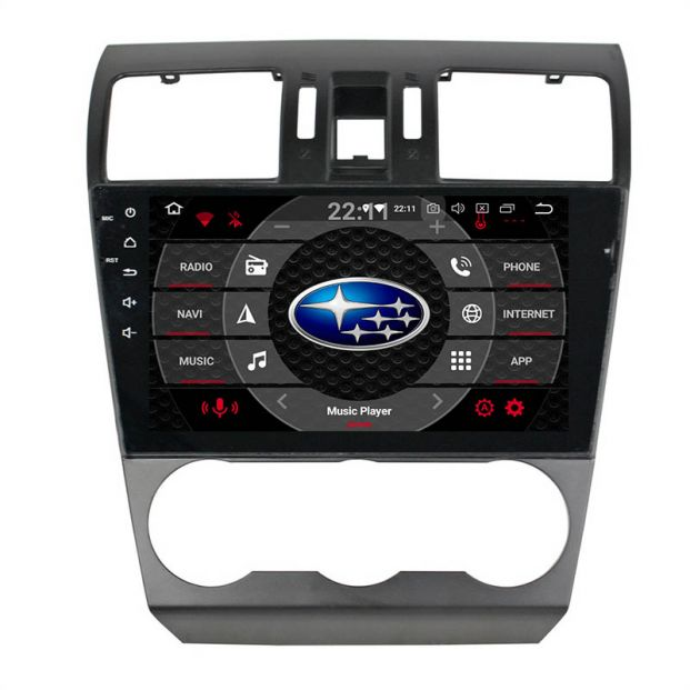 Belsee Best Aftermarket Subaru Forester XV 2013 2014 Auto Android 9 0 Pie  Head Unit Radio Replacement Car Stereo Upgrade 9 inch Touch Screen IPS GPS