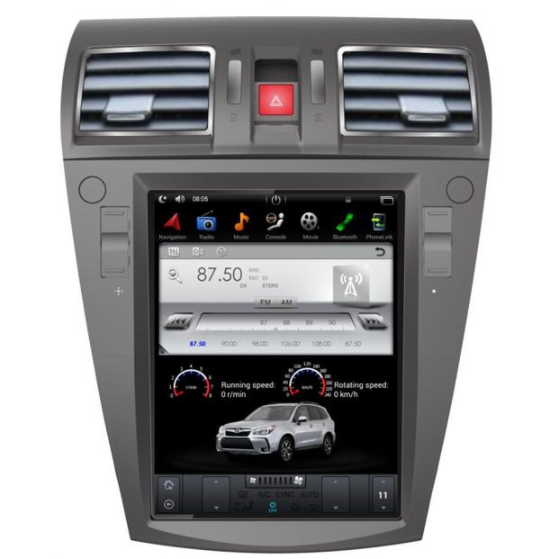 Belsee Aftermarket Best Android 7 1 Head Unit Radio Stereo Tesla Style 10 4  Inch Touch Screen for Subaru Forester / XV 2012 2013 2014 2015 2016 2017