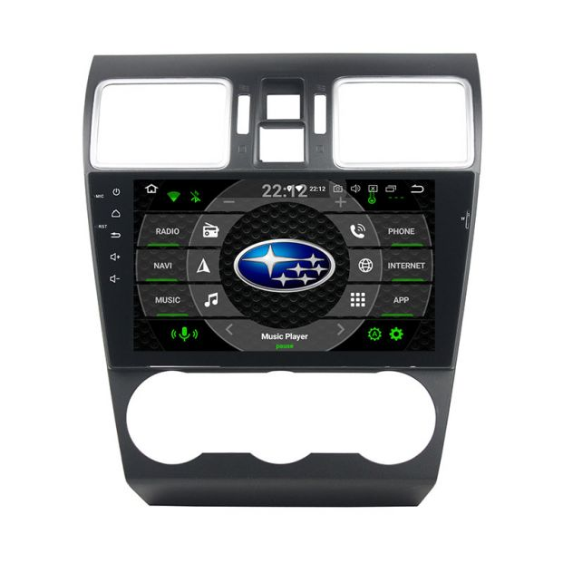 Belsee Aftermarket Android 9 0 Pie Auto Head Unit Radio Replacement Stereo  upgrade for 2014 2015 2016 2017 2018 2019 Subaru XV Crosstrek WRX STI