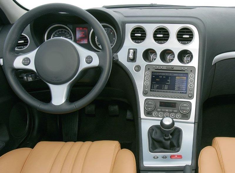 Alfa Romeo 159 Spider 939 Brera Sportwagon dash