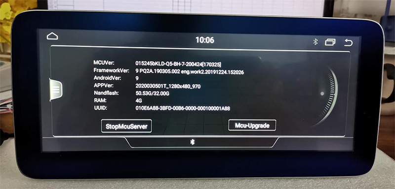 android 10 Q head unit Audi A4 B8 2009-2016