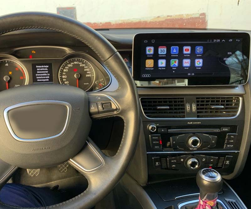 Audi A4 B8 2009-2016 head unit upgrade