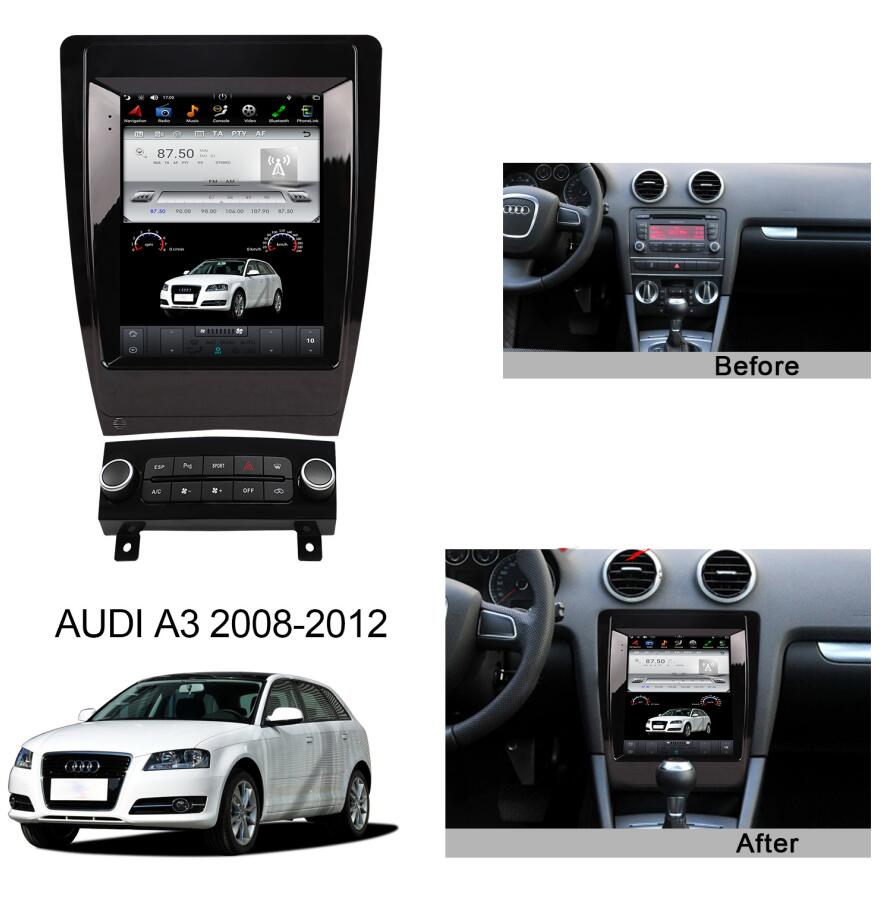 Audi A3 8P S3 2008-2012 factory radio