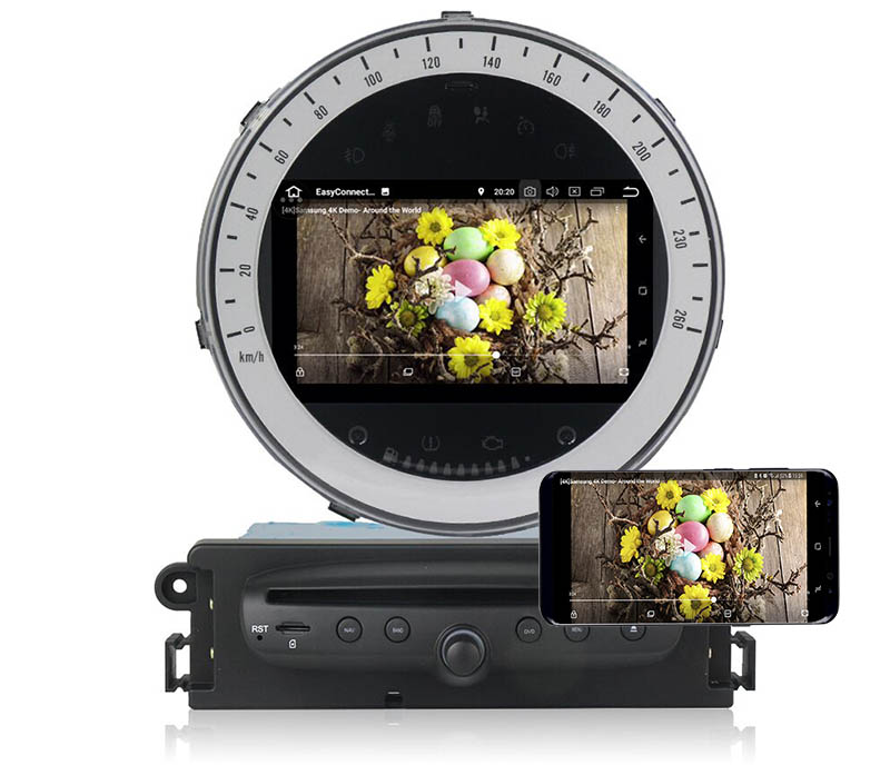 BMW Mini Cooper R56 R57 2006-2013 android mirror link